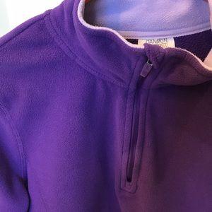 Danskin Sweaters - Fleece Zipper Front Pullover